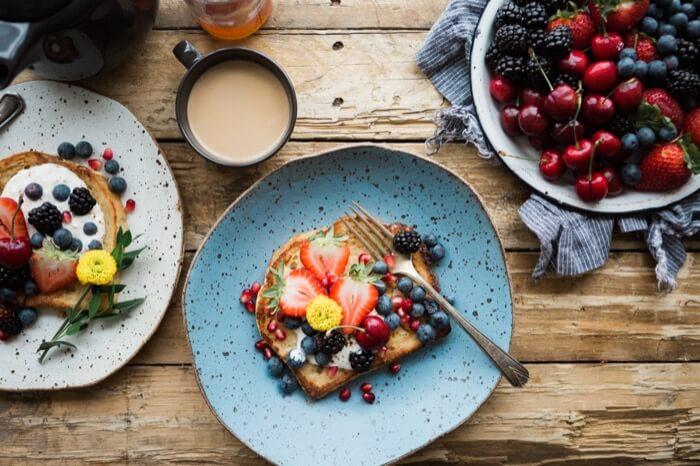 petit déjeuner nordique