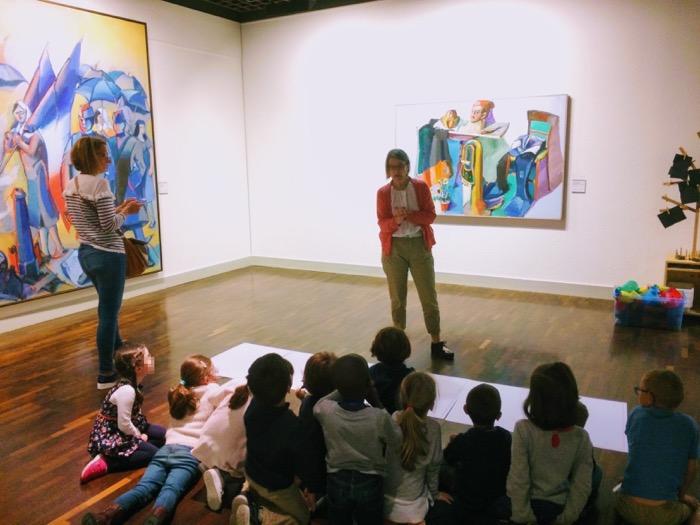 animation enfants au Musée
