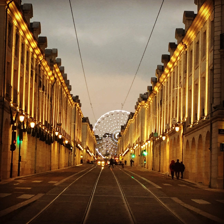 rue Royale de nuit