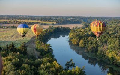 Découvrir Orléans en montgolfière : bol d'air et vue époustouflante